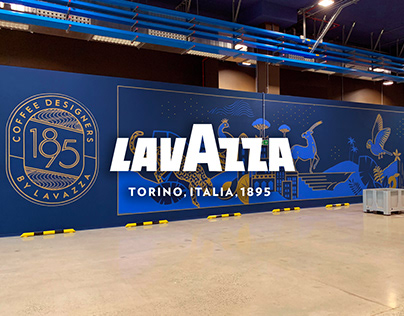 1895 by Lavazza | Mural