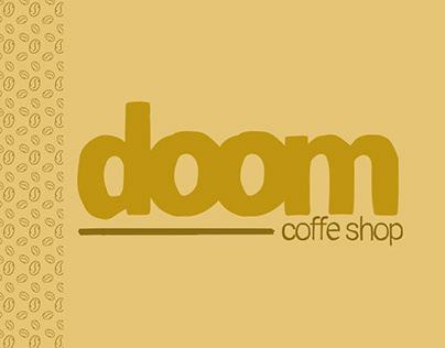 Branding - Doom Coffe Shop