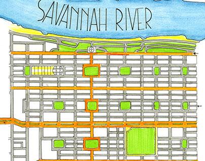 Savannah, City, Ward and Place