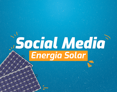 Energia Solar - Social Media