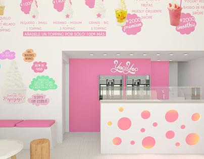 Ice Cream Restaurant in Costa Rica