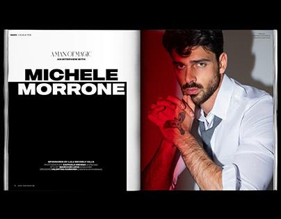BASIC Magazine—Michele Morrone Layout
