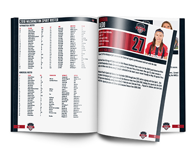 2018 Washington Spirit Media Guide