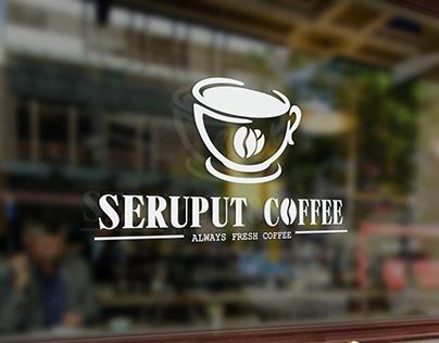 Seruput coffee branding logo coffee shop