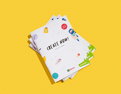 Create now! Activity book