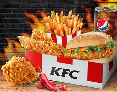 KFC Fiery MaxBox