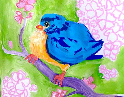 Experimental Blue Bird