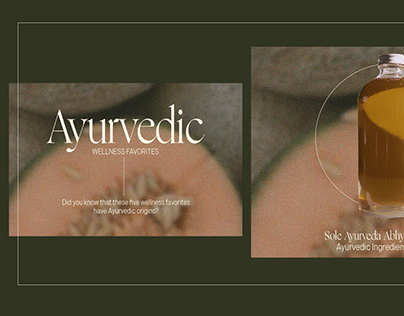 Ayurveda (Mock-up)