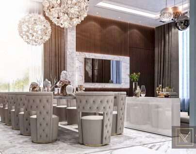 Neoclassic interior space | Kuwait