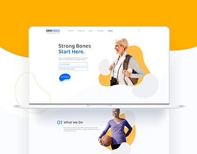 BONECOACH - Website Design