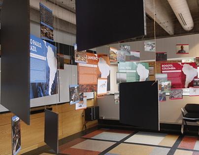Within Formal Cities: Exhibit Design