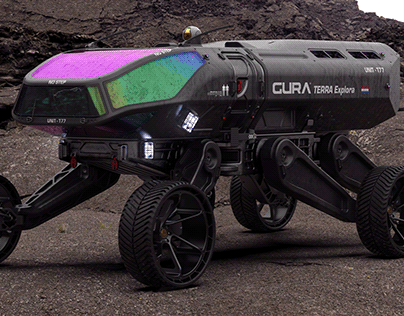 GURA® TERRA Incognita Space Rover Design