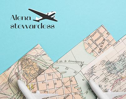 Лендинг для Alenastewardess