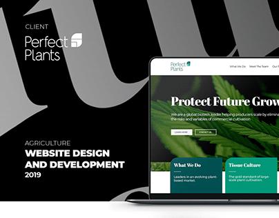 WEB DESIGN AND DEVELOPMENT FOR GLOBAL BIOTECH LEADER.