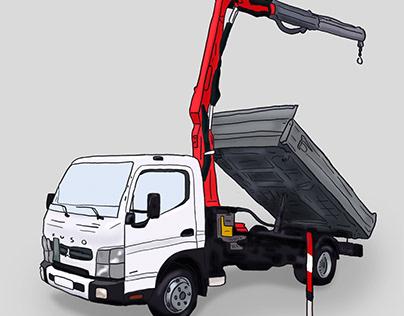 Truck - illustration