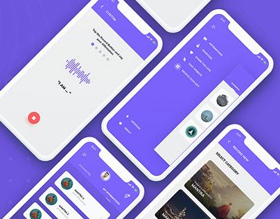 I AM Affirmation App UX UI Design Case Study