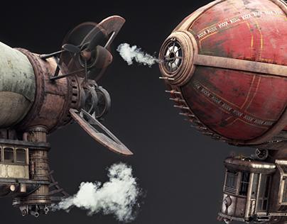 Battle airships