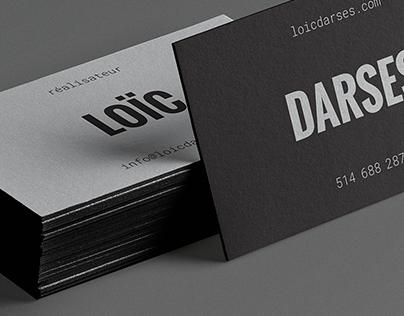 Loïc Darses Réalisateur — Branding