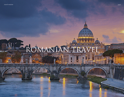 Travel website for Romanian travel