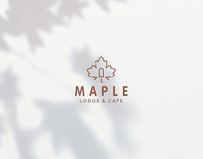 Maple Lodge & Cafe - Brand Identity