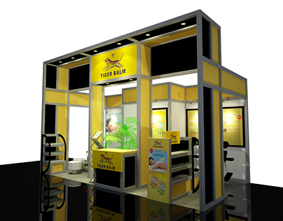 tiger balm booth at ISEF 2017