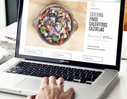 Simona Pastelería Web Design
