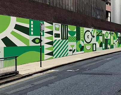 Birmingham Colmore BID Mural