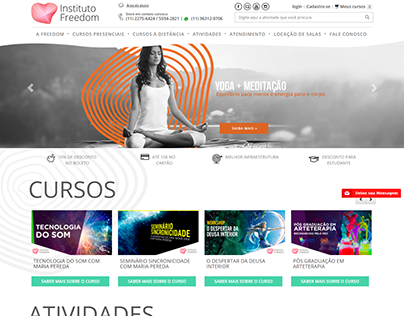 institutofreedom.com.br - magento 1.9x ecommerce