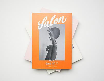 Salon Magazin   Editorial Design