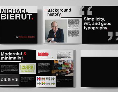 Michael Bierut Brochure