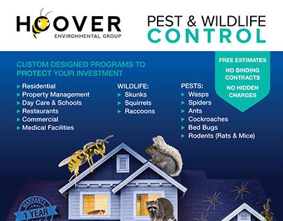 Pest & Wildlife Flyer