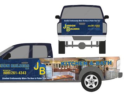 Janson Builders Vehicle Wrap