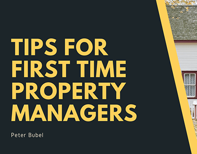 Tips For First Time Property Managers
