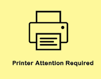 HP Deskjet Printer Attention Required- How to Solve?