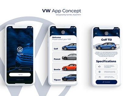 VW App Concept