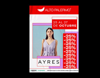Graphic communication for Alto Palermo Shopping