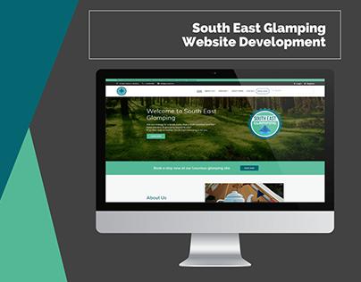 South East Glamping Website Development