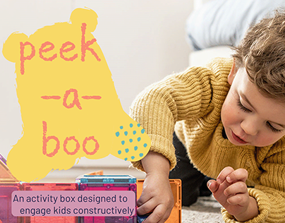 Peek-a-boo — An activity box to engage kids