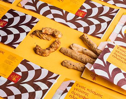 Albus Bakeries packaging