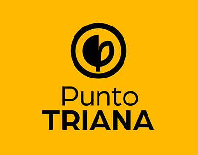 diseño identidad Centro Comercial Punto Triana