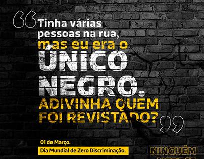Dia Mundia de Zero Discriminação