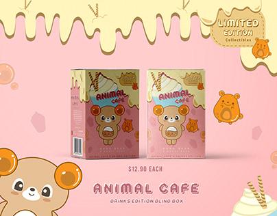Packaging Design - Animal Cafe Blind Box