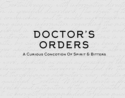 Doctor's Orders Home Cocktail Kit bluemarlin Winner