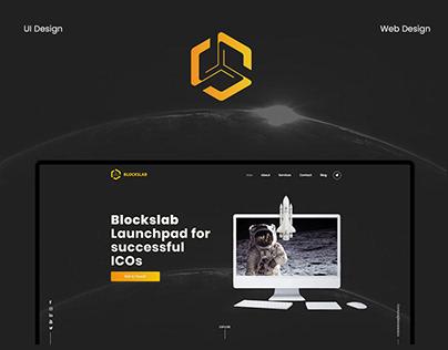 Blockslab - website design and UX/UI design