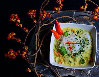 Menu photography for GoldGinger - Chinese restaurant