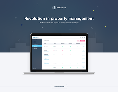 Property management system UX/UI