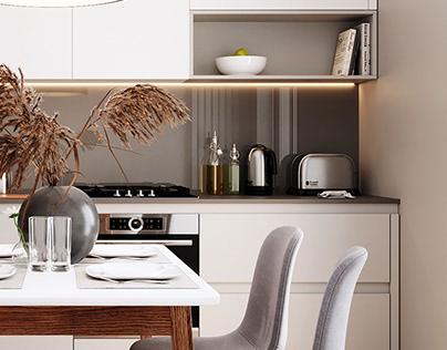 AMSTERDAM | Apartment in LVIV I 64 sq.m.
