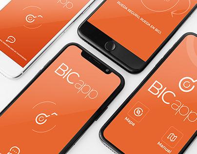 Prototipo de App Bicapp