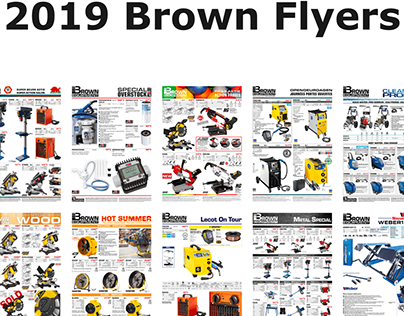Brown Equipment - Flyers 2019