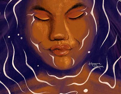 Mergulho | Ilustração Digital